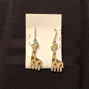 NEW Dangly Giraffe Earrings